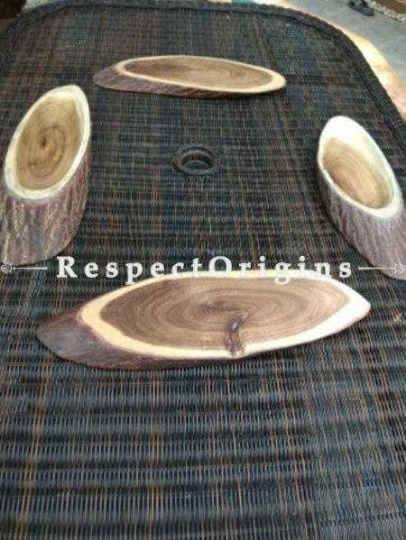 Set of 5 Cheese Boards; Stylish And Elegant Oval shape Wooden Cheese Platter|RespectOrigins