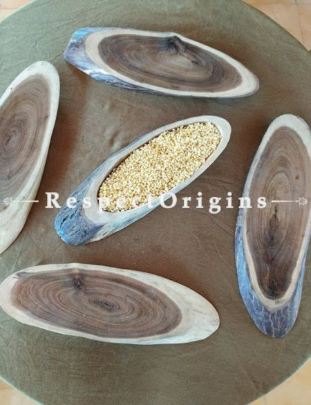 Set of 5 Cheese Boards; Stylish And Elegant Oval shape Wooden Cheese Platter RespectOrigins