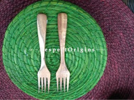 Set of 6 Fruit Forks; Wooden; Handmade and Chemical Free| RespectOrigins.com