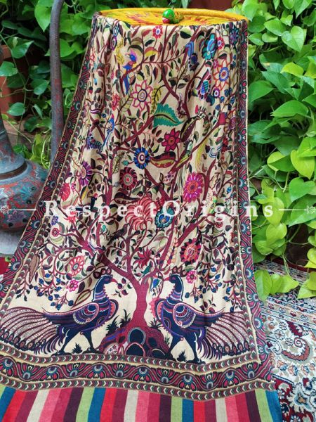 Multi-Color Fine Luxury Formal Silken Stoles for Work Wear or Evening Wear;Length 80 x 30 Width Inches.; RespectOrigins.com
