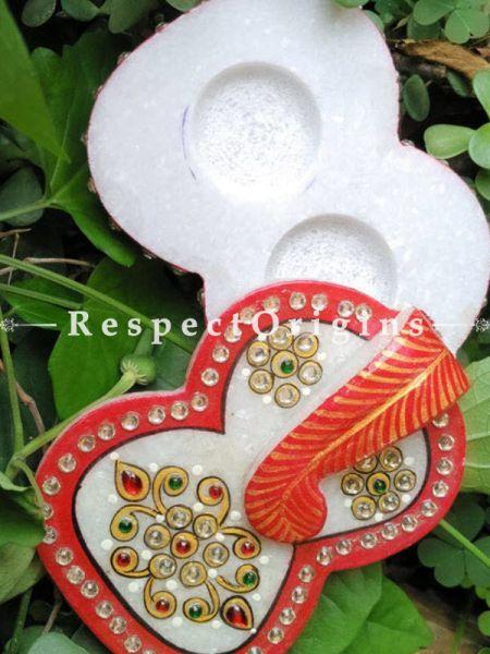 Sindoor Box For Happy Marriage; Marble