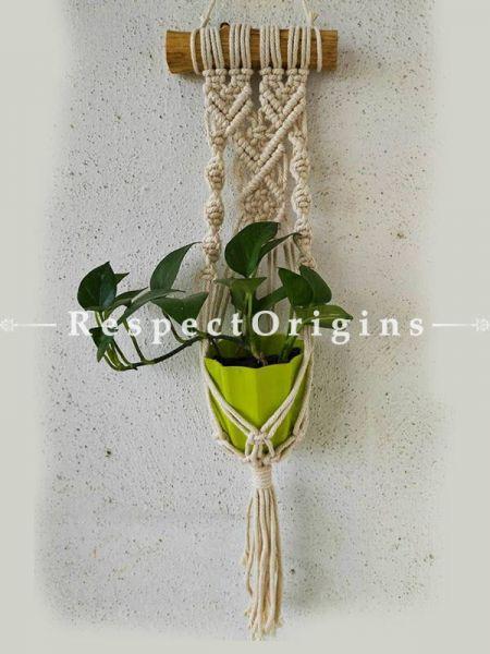 Buy Boho Hanging planter holder, 27x8 Inches At RespectOrigins.com