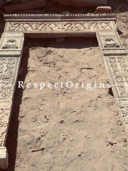 Buy Exquisite Stone-Carved Jaisalmer Door Frame At RespectOrigins.com