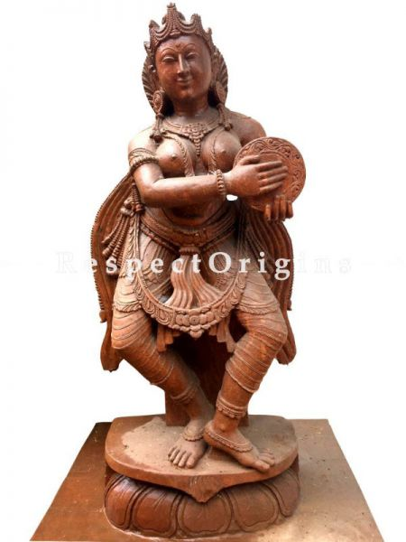 Buy Devdasi Statue; Handcarved Soap Stone Statue; 6 Feet |RespectOrigins