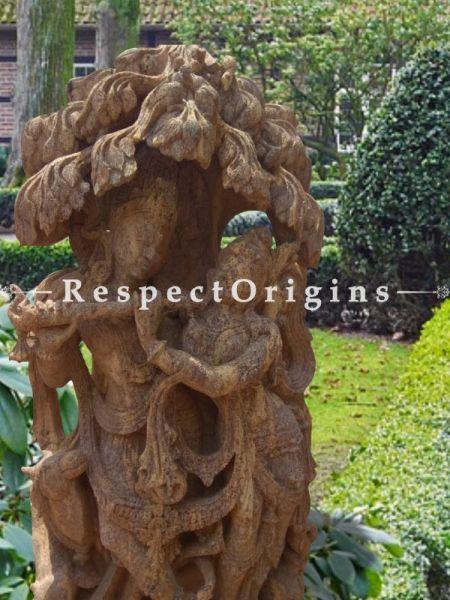 Buy Unconditional Love - Stone Statue of Radhakrishna Under Tree for Garden |RespectOrigins