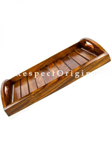 Buy Sheesham Wood Crafted Serving Tray; Kitchen Decor; Pirates Wood Craft; Sailors Crate; Dinner Food Cart At RespectOrigins.com