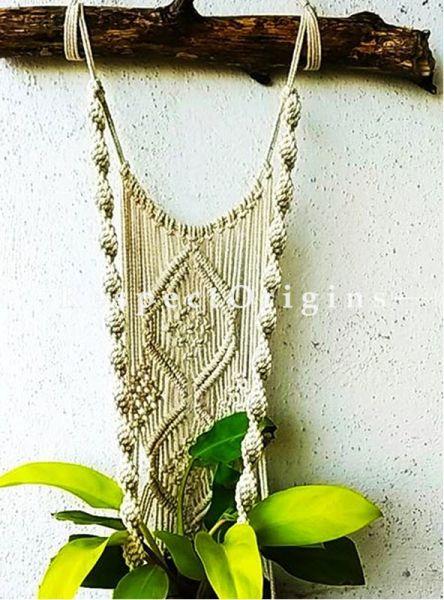 Buy Boho Hanging Plant Holder, Macrame At RespectOrigins.com
