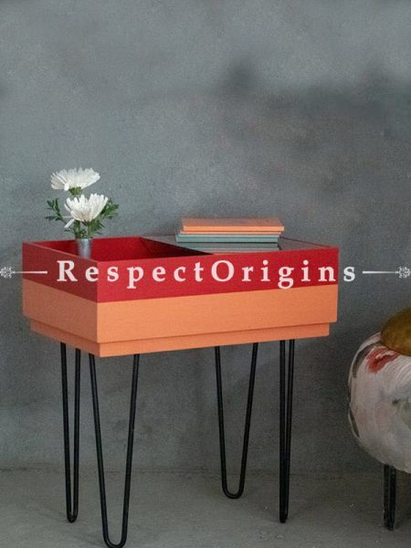 Buy Recomposed Wooden desk With Iron Legs At RespectOrigins.com