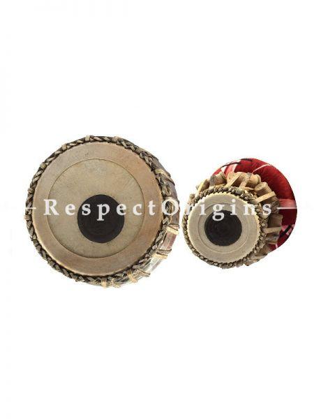 Tabla Set; Jack Fruit Wood; Indian Musical Instrument; RespectOrigins.com