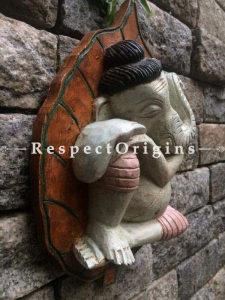 Buy Ganesh Statue, Tamil Nadu Wood Craft Online at RespectOrigins