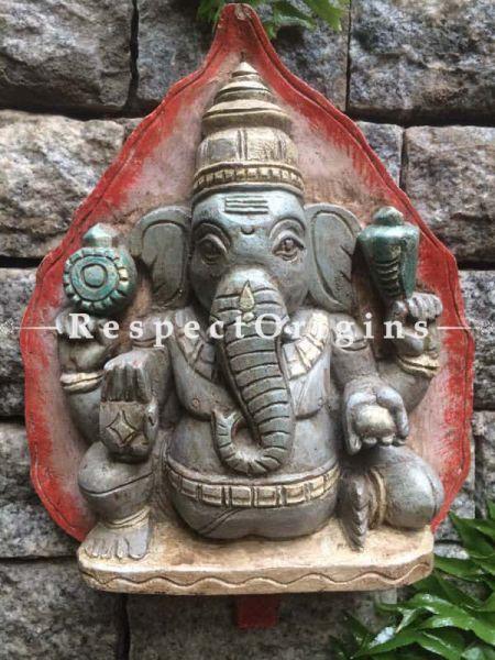 Buy Ganesh Statue; Tamil Nadu Wood Craft Online at RespectOrigins