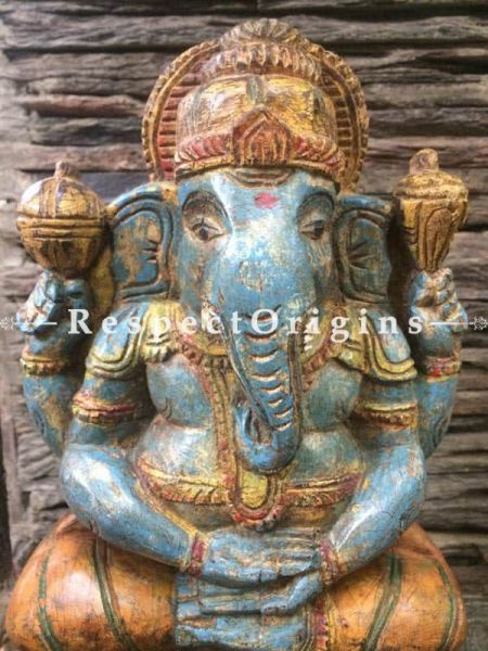 Buy Ganesh Statue, Tamil Nadu Wood Craft, RespectOrigins