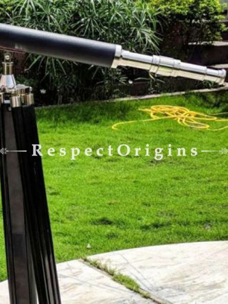 Buy 65 Dynamic Black Leather Cased Premium Large Telescope; Pirates Nautical Decor Gifts At RespectOrigins.com