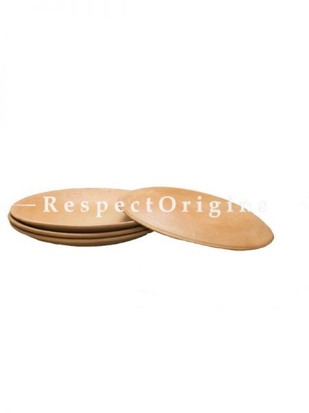 Buy Set of 4 Terracotta Plates, Hand Made At RespectOrigins.com