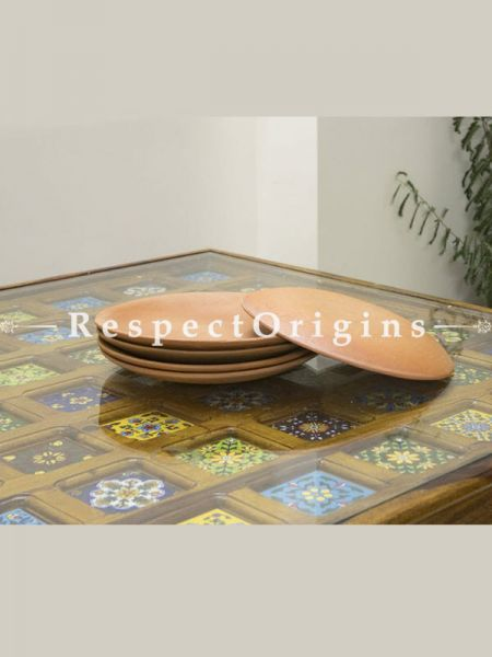 Buy Terracotta Plate Set of 6 At RespectOrigins.com