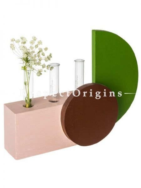 Buy Vent Vase, Recycled Wood At RespectOrigins.com