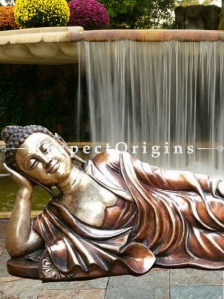 Buy The Buddha in Repose; Bronze Statue At RespectOrigins.com