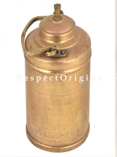 Buy Traditional Brass Milk Pot With Engraved On Handle At RespectOrigins.com