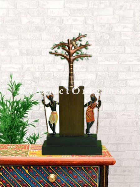 Buy Folk Tribal Art Figurine in Wrought Iron; 14x7x3 in At RespectOrigins.com