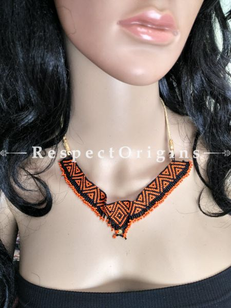 Buy Red and Black Beads; Jewellery Set at RespectOrigins.com