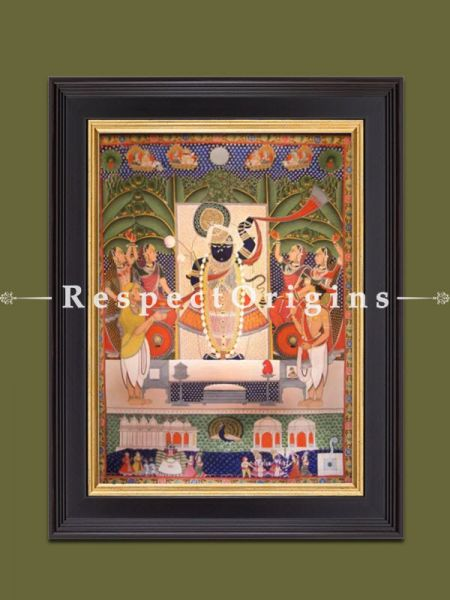 Buy Vertical Pichwai Painting of Shared Poornima in 60 x 42 in size  Respect Origins
