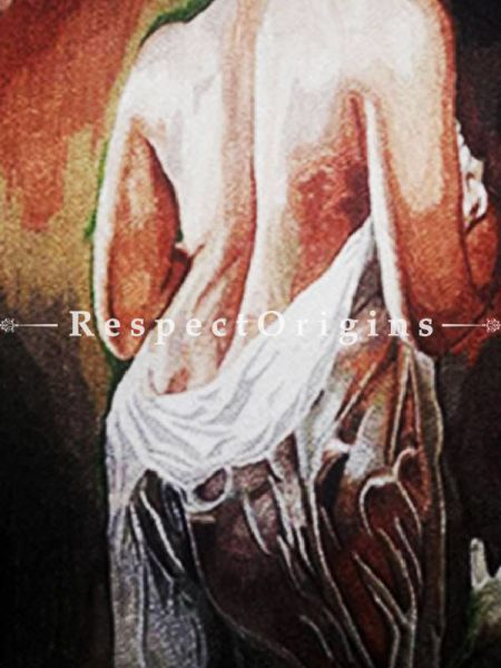 Buy Stunning beauty; Thread Painting; 24x18 in At RespectOriigns.com