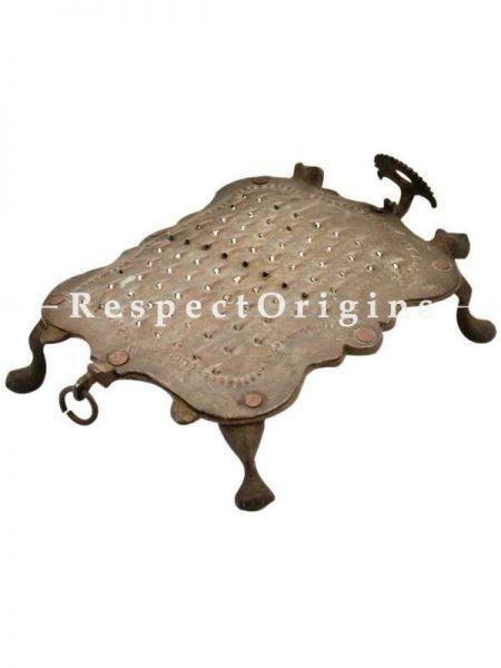 Buy Handcrafted Indian Brass Vegetable Grater At RespectOrigins.com