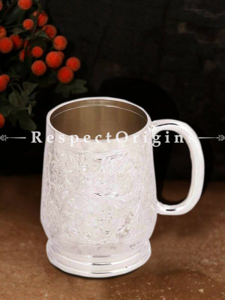 Buy Vintage Brass Mug Silver Coated At RespectOrigins.com