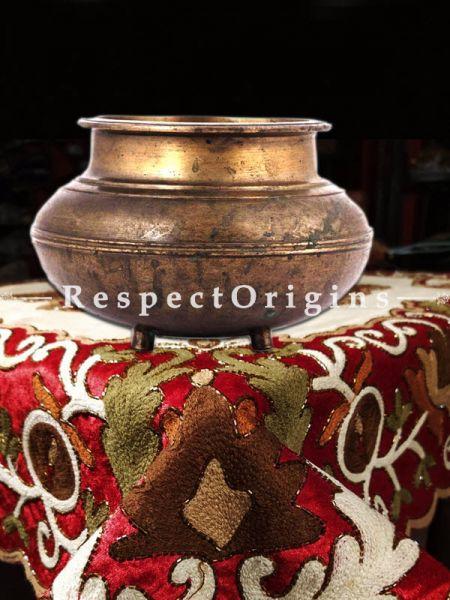 Buy Vintage Brass South Indian Pot At RespectOrigins.com