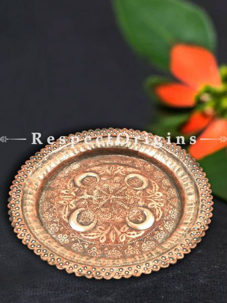 Buy Vintage Deep Copper Plate At RespectOrigins.com