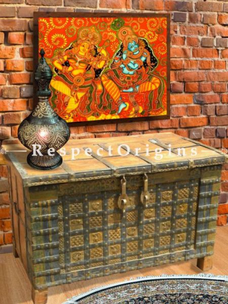 Buy Distressed Vintage-Style Dowry or Treasure Chest or Table At RespectOrigins.com