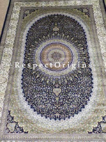 Buy Pure Silk Kashmiri Carpet; Tabrez At RespectOriigns.com