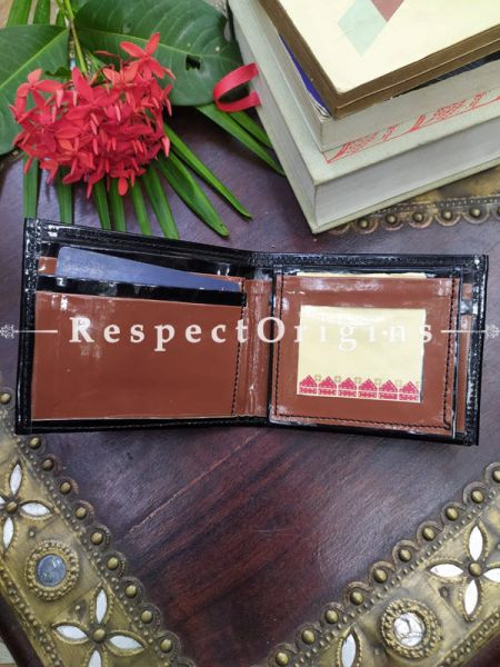 Buy White One-of-a-kind Handcrafted Suf Embroidered Wallets height 3.5 Inches x width 9 Inches at RespectOrigins.com