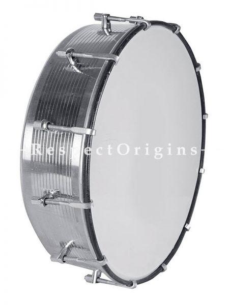 Taasha; White; Indian Musical Instrument; RespectOrigins.com