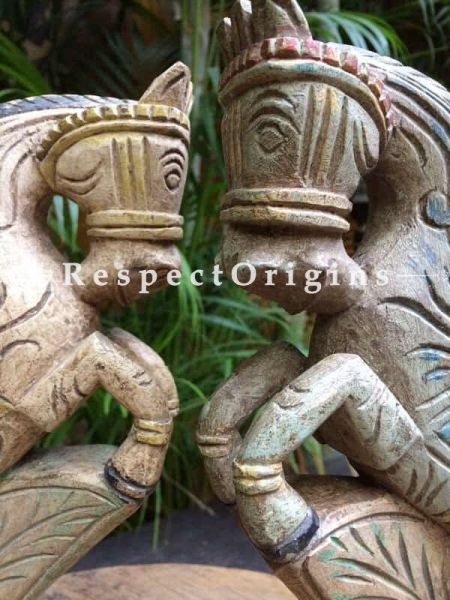 Buy Horse Bracket; Tamil Nadu Wood Craft at RespectOrigins.com