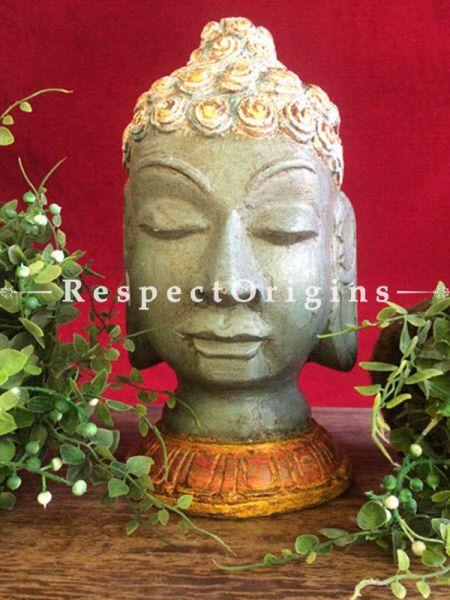 Buy Wooden Buddha Bust at RespectOrigins.com