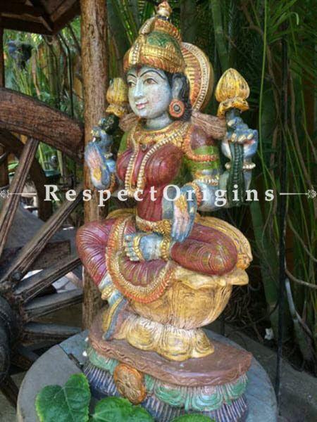 Buy Hindu Goddess; Tamil Nadu Wood Craft at RespectOrigins.com