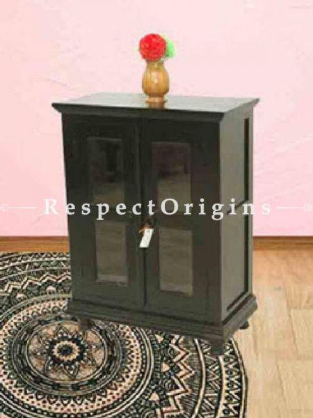 Buy Sumatra Night stand in Green; Solid Wood; Handmade At RespectOrigins.com