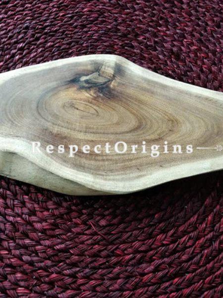 Wooden Cheese Board Rustic Elegant Serving Board, Platter, Handcrafted; RespectOrigins