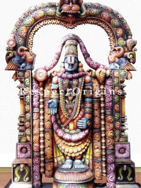 Buy Fabulous Balaji Statue in Wood; 6 Feet Online at RespectOrigins.com