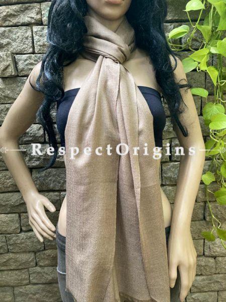 Woven Kashmiri Woolen Stole for women;80 X 28 Inches; RespectOrigins.com