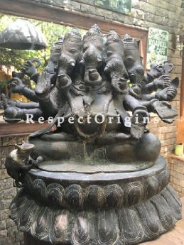 Buy Collectors Panchmukhi; Five-faced Bronze Ganesha Statue At RespectOriigns.com