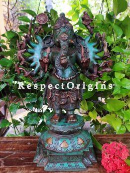 Buy Ganesha The Obstacle Remover Bronze Statue At RespectOrigins.com