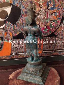 Buy Graceful Bronze Statue of Sivagami ; 18 Inches At RespectOrigins.com
