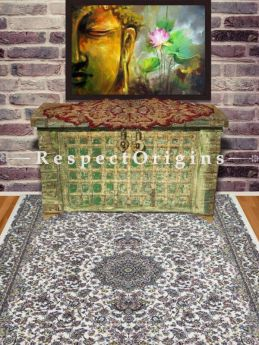 Buy Lush oriental Kashmiri Silk Carpet in 4x6 Ft At RespectOriigns.com