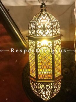 Buy Exotic Handcrafted Designer Hanging Lamp in Copper and Glasswork. At RespectOriigns.com
