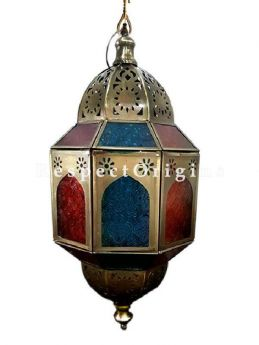 Buy Exquisite Artistic Vintage Styled Turkish Marrakesh Bedside Table/ Moroccan Lanterns At RespectOriigns.com