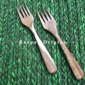 Set of 6 Fruit Forks; Wooden; Handmade and Chemical Free| RespectOrigins.com