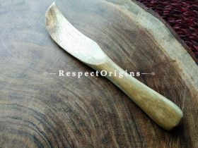 Set of 6 Butter Knives; Wooden; Chemical Free and Handcrafted; RespectOrigins