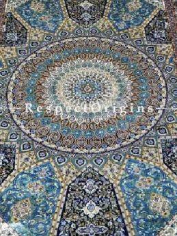 Buy Pure Silk Kashmiri Carpet: Tabriz, 3 X 5 Ft At RespectOriigns.com